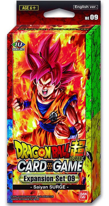 Dragon Ball Super Collectible Card Game Saiyan Surge Expansion Set [09]