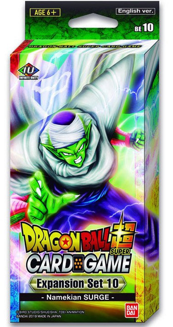 Dragon Ball Super Collectible Card Game Namekian Surge Expansion Set [10]