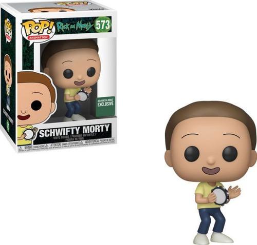 Funko Rick & Morty POP! Animation Schwifty Morty Exclusive Vinyl Figure #573
