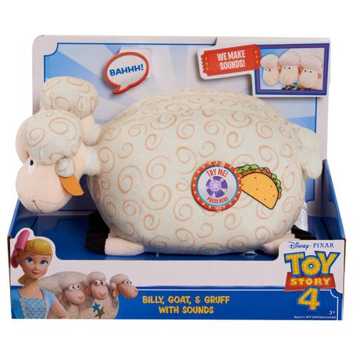 Toy Story 4 Billy, Goat & Gruff 10-Inch Plush with Sound