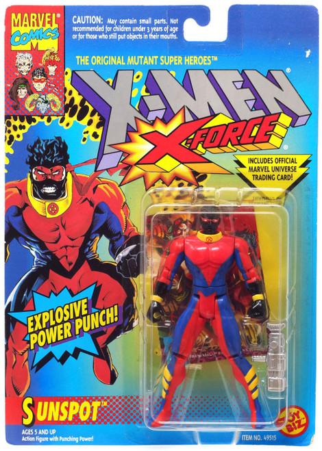 Marvel The Uncanny X-Men X-Force Sunspot Action Figure [Explosive Power Punch!]