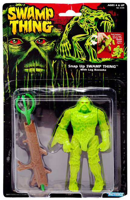 DC Swamp Thing Action Figure [with Log Bazooka] [Moderate shelf wear]