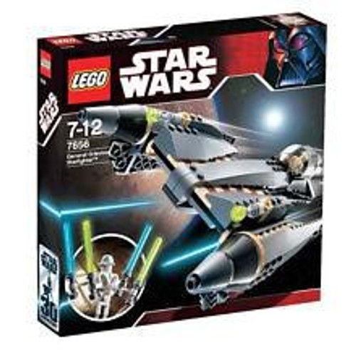 LEGO Star Wars The Clone Wars General Grievous Starfighter Set #7656 [Damaged Package]