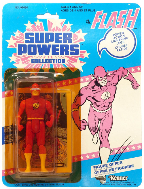 DC Super Powers Collection The Flash Action Figure [Damaged Package, Mint Contents!]
