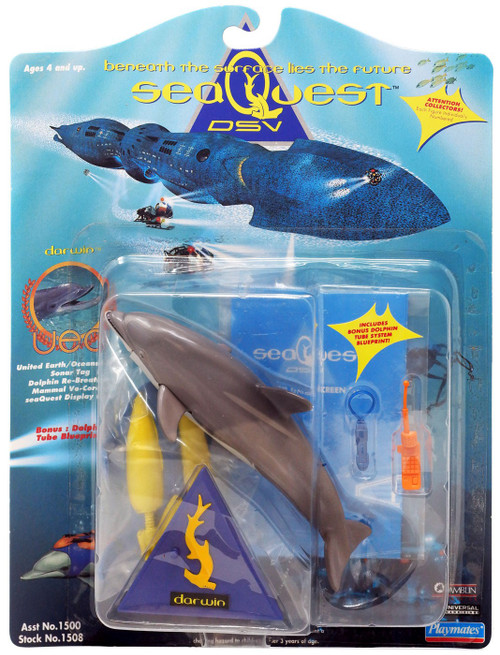 Sea Quest Darwin Action Figure
