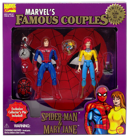 Marvel's Famous Couples Spider-Man & Mary Jane Action Figure 2-Pack