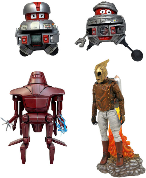 Disney Classic Select V.I.N.C.E.N.T. & B.O.B., Maximilian & Rocketeer Set of 3 Action Figures [The Black Hole & The Rocketeer]
