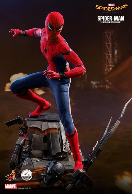 Marvel Spider-Man Homecoming Movie Masterpiece Spider-Man Quarter Scale Collectible Figure [Regular Version] (Pre-Order ships January)