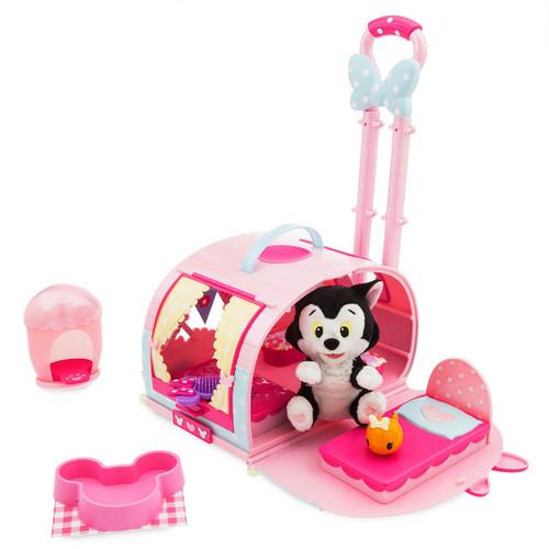 Disney Minnie Mouse Figaro Pet Carrier Exclusive Set