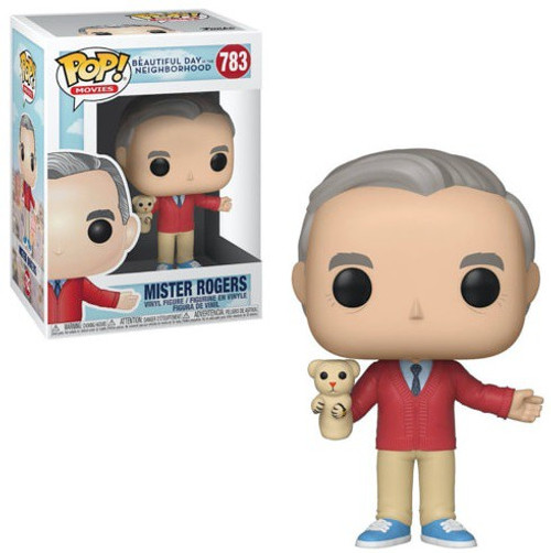 Funko A Beautiful Day in the Neighborhood POP! Movies Mr. Rogers Vinyl Figure #783 [with Daniel Tiger]