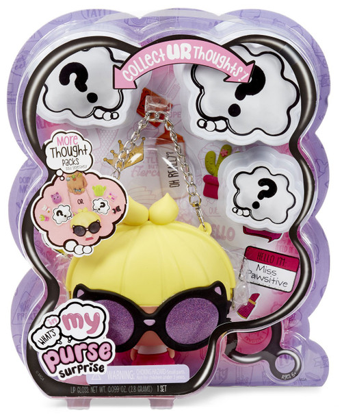 What's in My Purse Surprise Miss Pawsitive Doll Purse