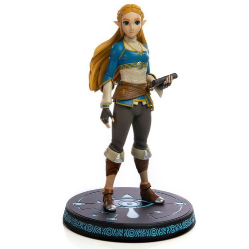 Legend of Zelda Breath of the Wild Princess Zelda 10-Inch Collectible PVC Statue [Standard Edition]