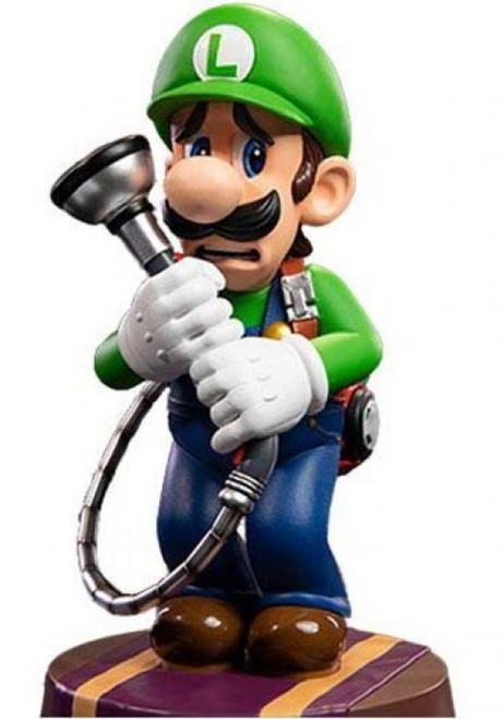 Luigi's Mansion 3 Luigi 9-Inch Statue [Standard Edition]