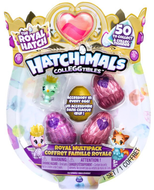 Hatchimals Colleggtibles Season 6 The Royal Hatch Mystery Multipack 4-Pack