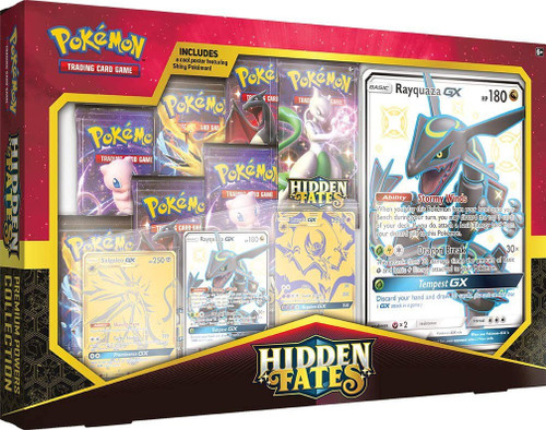 Pokemon Trading Card Game Sun & Moon Hidden Fates Premium Powers Collection