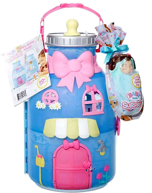 Baby Born Surprise Baby Bottle House Playset
