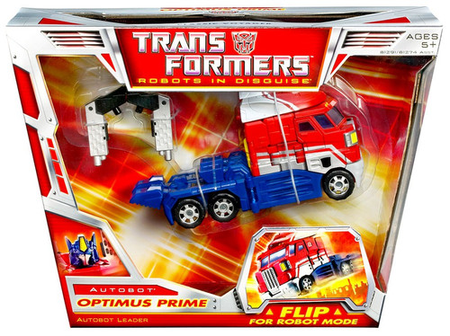Transformers Robots in Disguise Classics Optimus Prime Voyager Action Figure [Damaged Package]