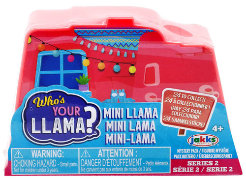 Series 2 MINIS Who's Your Llama? 2-Inch Mystery Pack