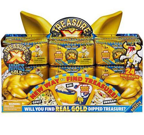 Treasure X Series 3 Kings Gold Mini Beasts Mystery Box [18 Packs]