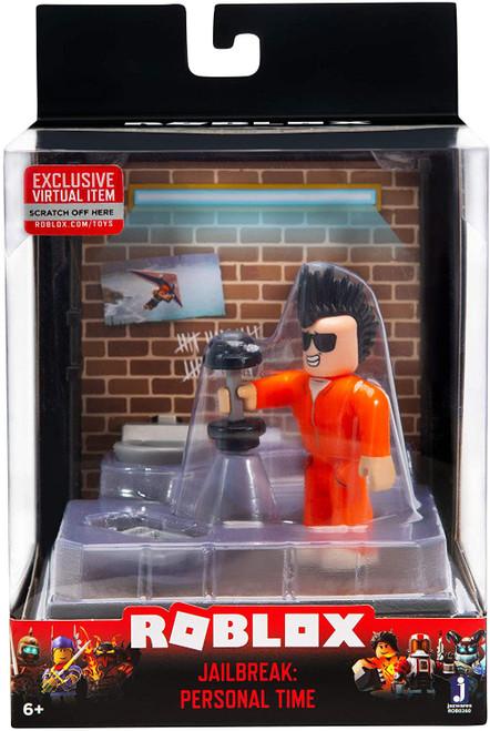Roblox Desktop Series Jailbreak: Personal Time Action Figure