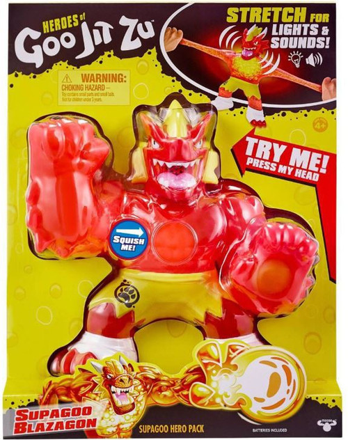 Heroes of Goo Jit Zu SUPAGOO Blazagon GIANT Action Figure