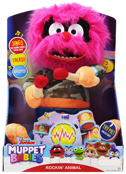 Disney Junior Muppet Babies Rockin' Animal Exclusive Feature Plush