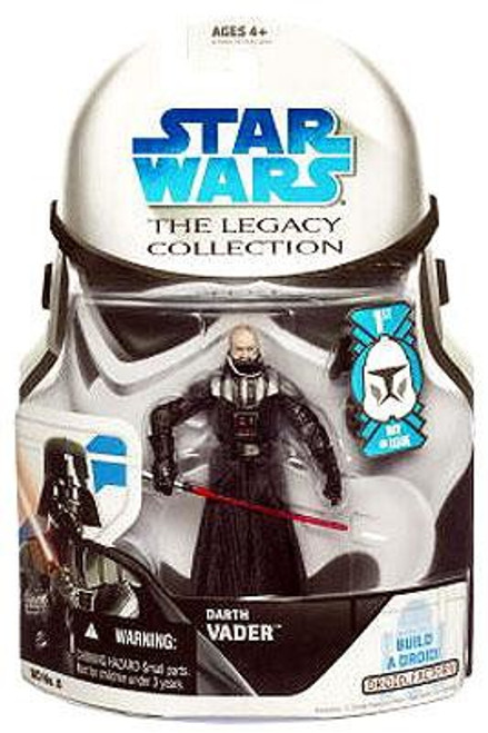 Star Wars Return of the Jedi 2008 Legacy Collection Droid Factory Darth Vader Action Figure BD08 [Unmasked, First Day of Issue]