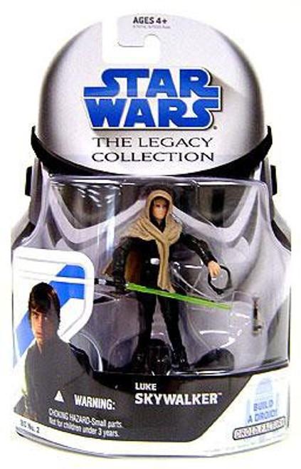 Star Wars Return of the Jedi 2008 Legacy Collection Droid Factory Luke Skywalker Action Figure BD02 [Skiff]