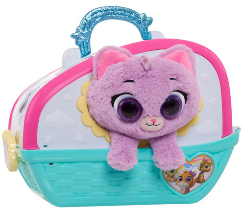 Disney Junior TOTS (Tiny Ones Transport Service) Care For Me Carrier Plush Set [Kitty]
