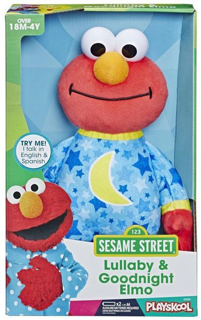 Sesame Street Lullaby & Goodnight Elmo Plush with Sound