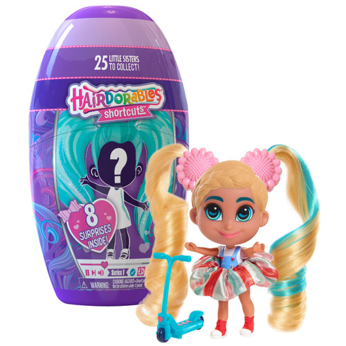 Hairdorables Shortcuts Series 1 Mystery Pack