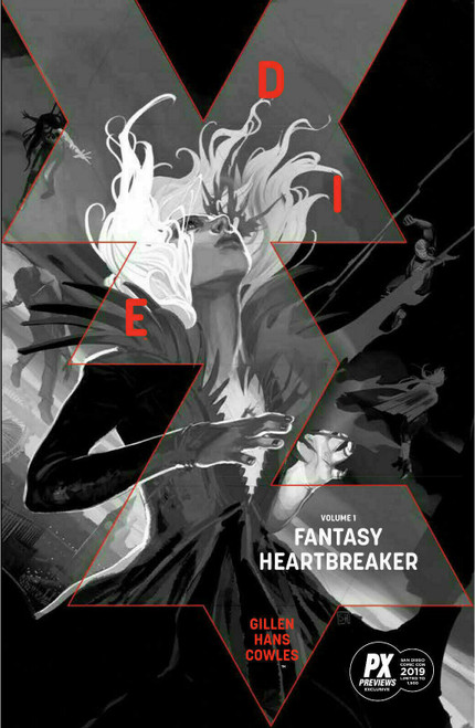 Image Comics Die Fantasy Heartbreaker Exclusive Limited to 1500 Trade Paperback Comic Book #1