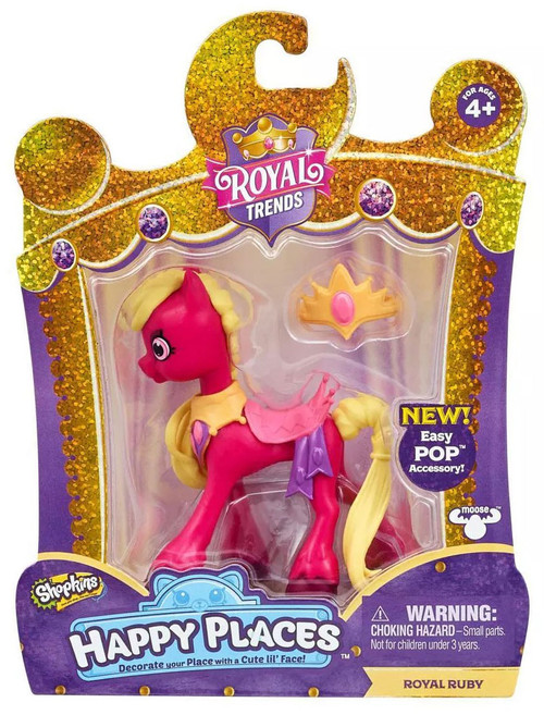 Shopkins Happy Places Royal Trends Royal Ruby Lil' Shoppie Pack