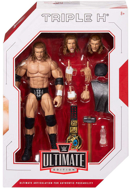 WWE Wrestling Elite Collection Ultimate Triple H Action Figure