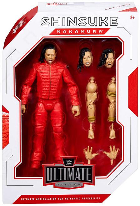 WWE Wrestling Ultimate Edition Shinsuke Nakamura Action Figure