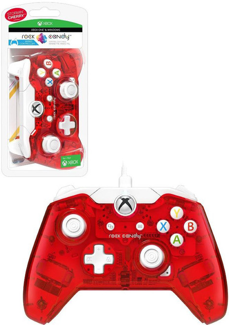 XBOX One Rock Candy Cranblast Wired Video Game Controller