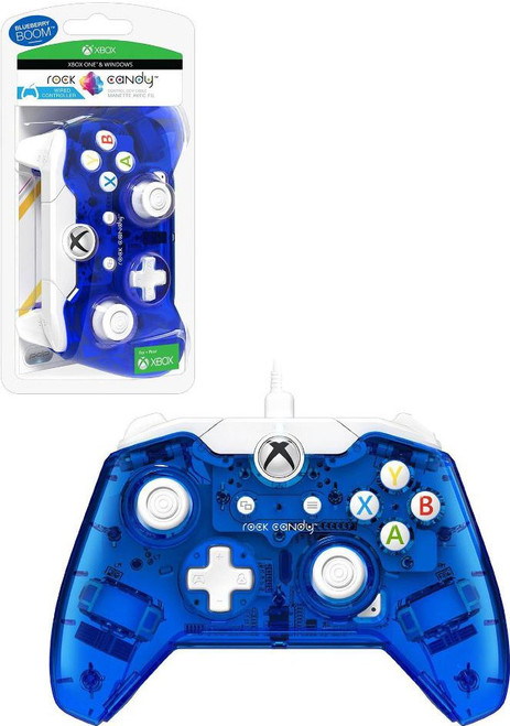 XBOX One Rock Candy Blu-merang Wired Video Game Controller