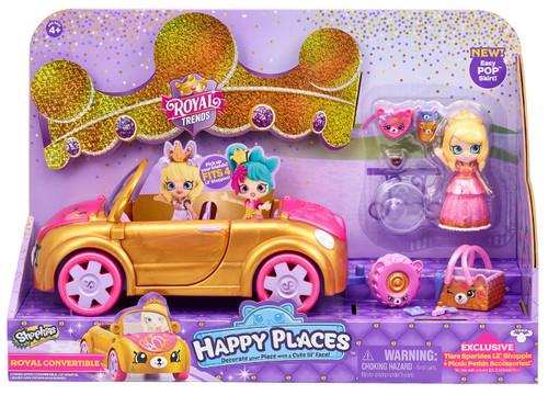 Shopkins Happy Places Royal Trends Royal Convertible Vehicle Playset