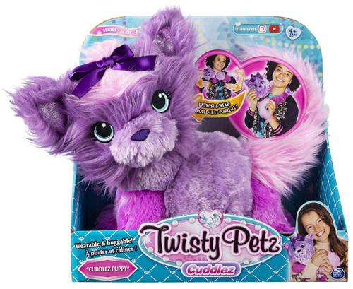 Twisty Petz Series 3 Cuddlez Puppy Plush