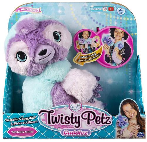 Twisty Petz Cuddlez Series 3 Snugglez Sloth Plush