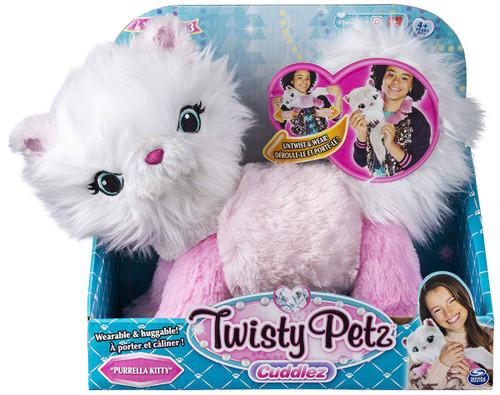 Twisty Petz Cuddlez Series 3 Purrella Kitty Plush