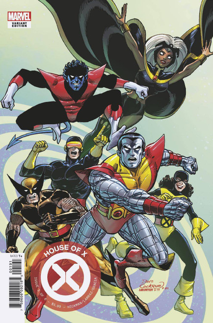 Marvel Comics House of X #1 Comic Book [Dave Cockrum Hidden Gem Variant Cover]