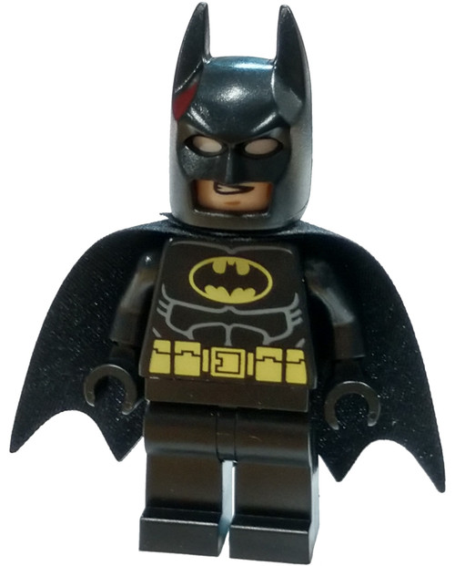 LEGO DC Universe Super Heroes Batman II Batman Minifigure [Black Suit with Yellow Belt Loose]