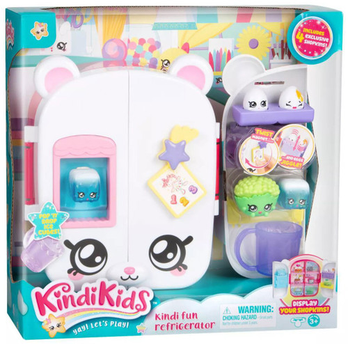 Kindi Kids Kindi Fun Refrigerator Playset