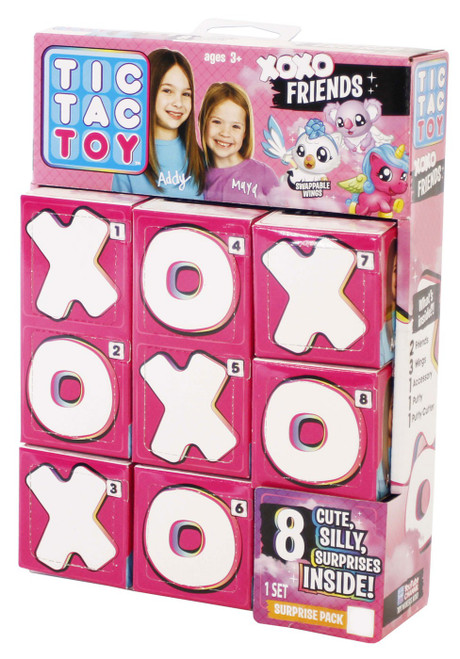 Tic Tac Toy XOXO Friends Surprise Pack #1 Mystery 8-Pack