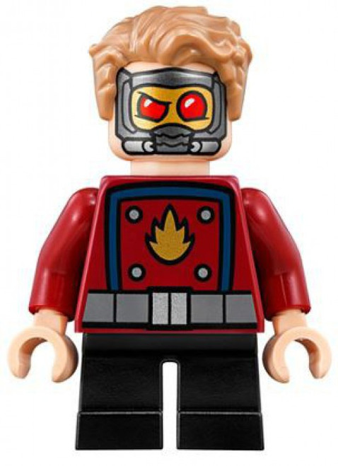 LEGO Marvel Super Heroes Star-Lord Minifigure [Mighty Micros Loose]