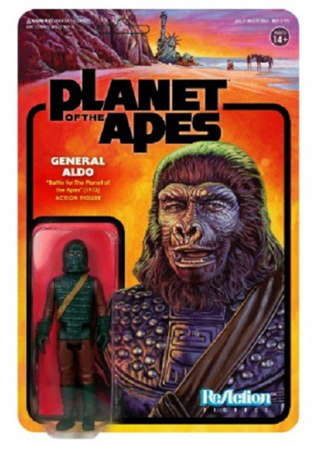 ReAction Planet of the Apes Series 2 General Aldo Action Figure