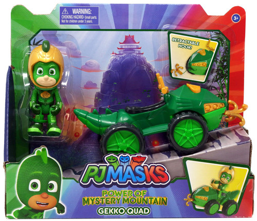 Disney Junior PJ Masks Power of Mystery Mountain Gekko Quad Vehicle & Figure