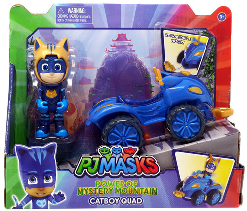 Disney Junior PJ Masks Power of Mystery Mountain Catboy Quad Vehicle & Figure