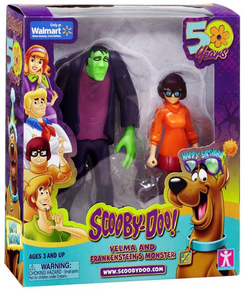 Scooby Doo 50 Years Velma & Frankenstein's Monster Exclusive Action Figure 2-Pack